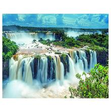 Diamond Painting Landscape 5d Diy Diamond Embroidery Mosaic Picture Rhinestone Handmade Kits waterfall Pattern Home Decor 5d diamond painting landscape waterfall diy full round diamond embroidery mosaic picture rhinestone home decor gift