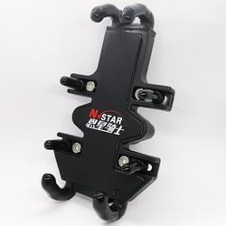 Uniwersalny uchwyt na telefon komórkowy ze stopu aluminium z 1 ''gumową kulką diamentową do urządzeń 4.7-7 cali