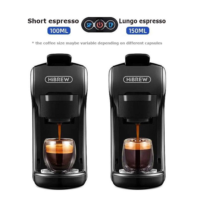 HiBREW капсула кофеварка эспрессо машина, мульти капсула кофеварка Dolce gusto Капсульная машина
