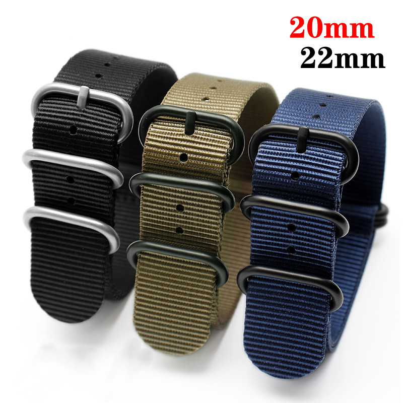 huawei watch Gt 2 strap for Samsung Gear S3 Frontier Nato Strap 20mm 22mm watch band samsung galaxy watch 46mm Active 2 40mm