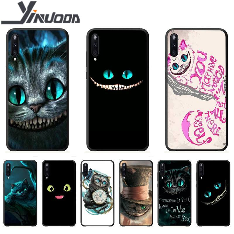 Motirunner Cheshire Cat Luxury Phone Case Coque For Samsung Galaxy ...