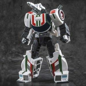 Image 2 - שינוי רובוט ברזל מפעל G1 Wheeljack Hexwrench KO פעולה איור צעצועי מיני אוסף מודל מכונית מתנות