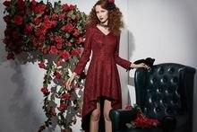Женские кружевные платья элегантное праздничное готическое шикарное