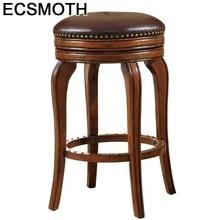Tabouret Comptoir Taburete De La Barra Todos Tipos Sgabello Banqueta Sandalyeler Leather Silla Cadeira Stool Modern Bar Chair