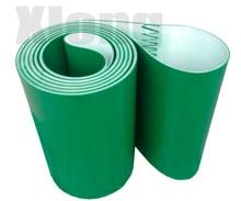 2205x250x3 mm Green PVC Flat Belt Light Assembly Line Industrial Belt Conveyor Flat Belt Conveyor Climbing Belt diamond pattern pvc conveyor belt price for sanding machine