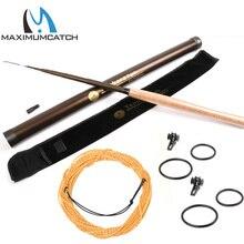 Maximumcatch 9/10/11 // 12/13FT Tenkara Fly Rod 7:3 ACTION Super Telescoping Tenkara Fly fishing Rod Combo