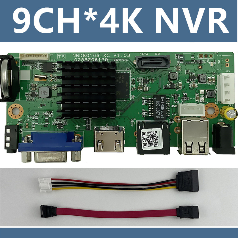Network NVR Video-Recorder CMS Cable-P2p XMEYE Digital SATA Cloud ONVIF H.265/h.264-Support-1