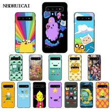 adventure time cute Beemo BMO Jake Finn Lumpy Phone Case for Samsung S9 plus S5 S6 edge plus S7 edge S8 plus S10 E S10 plus adventure time backpack with finn and jake cn bmo backpack beemo be more cartoon robot high grade pu green