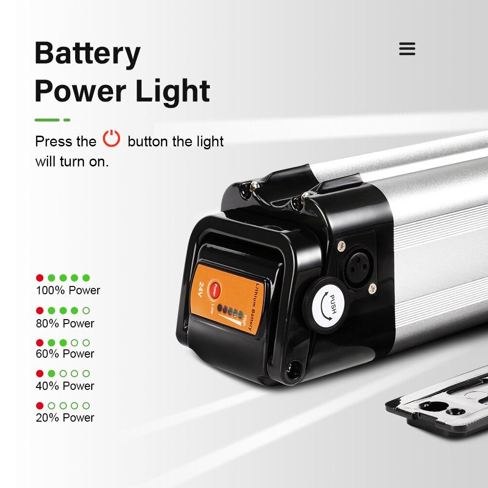 E-bike Li-ion Akku Batterie 24V 15Ah mit Ladegerät für Prophete Phylion Zhenlong