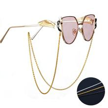 Fashion Glasses Chain Metal Sunglasses Chains Lanyards Strap Necklace Eyeglass Link Chain Cords