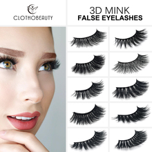 CLOTHOBEAUTY Mink Eyelashes 3d Mink hair Lashes Natural Wispy Long Volume eyelashes extension 1 Pair Handmade False Eyelashes-SD