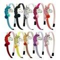 1 шт., ободки для девочек, повязка на голову с единорогом, блестящая объемная повязка на голову с блестками и шариками, новые модные детские г...