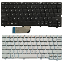 New US laptop keyboard For Lenovo ideapad 100S 100S 11IBY English keyboard black/white