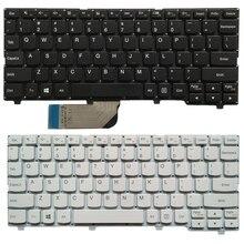 新のためのレノボ ideapad 100 s 100S 11IBY 英語キーボードブラック/ホワイト