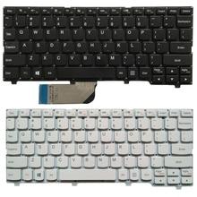 جديد لوحة مفاتيح الكمبيوتر المحمول الولايات المتحدة لينوفو ideapad 100S 100S 11IBY لوحة المفاتيح الإنجليزية أسود/أبيض