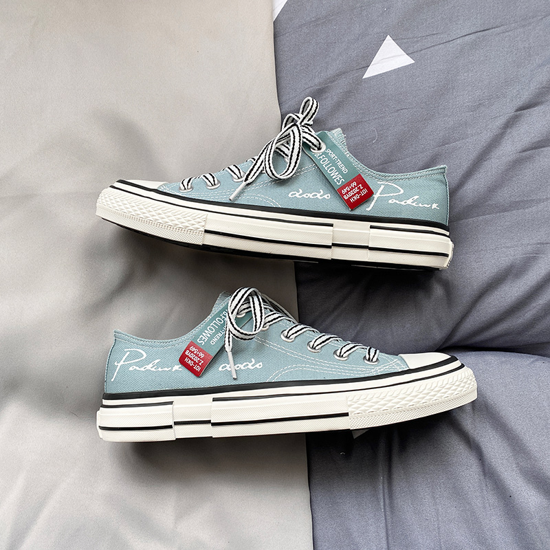 Trendy Brand Shoes Men Canvas Boat Shoes Breathable Men's Vulcanize Shoes Espadrilles Sneakers Man Flats Loafers Black Blue