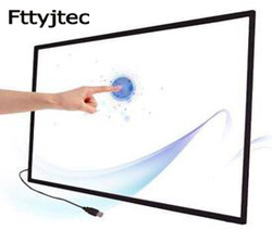 75 Inch Multi Ir Touch Screen Panel 10 Touch Points Infrarood Touch Screen Frame Overlay