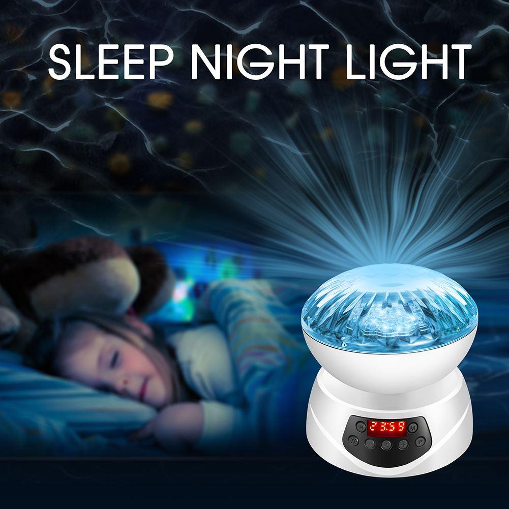 Noite Da Lâmpada LED Piscando Luz Da