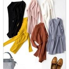 Осенне-зимняя новая одежда для беременных, тянущийся свитер с воротником-стойкой, тонкое Грудное вскармливание, свитер