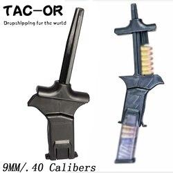 戦術ユニバーサルスピードローダー雑誌用 9 ミリメートル。 40S & W。 357SIG 雑誌 Glock ピストル拳銃 Mag ドロップシッピング