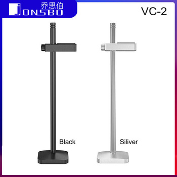 Jonsbo 195mm Graphics Card Holder Jack Bracket Aluminum VC-2 Desktop PC Computer Case Video Card Water Cooling Kit Support Stand atx game computer case black and white u3 water cooled desktop computer case support back cable