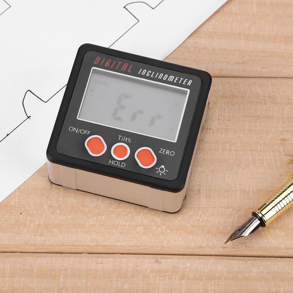 Caja de nivel Digital de precisión Protractor inclinómetro a prueba de agua Digital angular buscador caja cónica con Base magnética Mini cámara para niños, juguetes educativos para niños, regalos para bebé, cumpleaños, cámara Digital de regalo, proyección de 1080P, videocámara