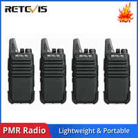 4pcs Retevis RT622 RT22 Handy Walkie Talkie Radio Station 16CH UHF CTCSS/DCS VOX Scan Hf Transceiver 2 Way Radio Handy Talkie