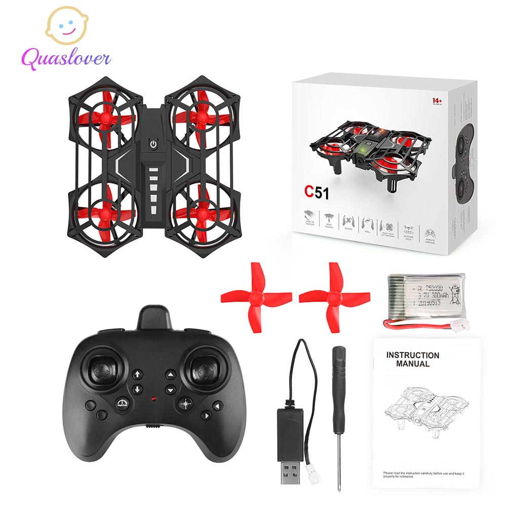 Mini Drone Kids RC Helicopter Plane RC Quadcopter Hight Hold Mode Helicopter 2.4G 4CH 6 Axis 3D Flips RC Helicopter Quadcopter