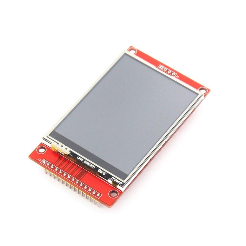 2.4 Inch 240x320 SPI TFT LCD Serial Port Module 3.3V PBC Adapter SD ILI9341 Compatible For Interfacefor Arduino UNO MEGA