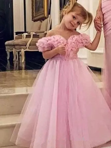Modest Pink One Shoulder Mother and Daughter Prom dresses Sexy Side Split Pleat formal Evening Party Gowns Vestidos De Fiesta