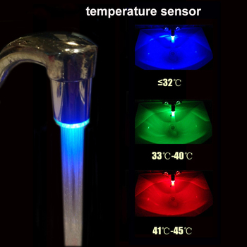 LED faucet. Multi-colored lighting. New product 4