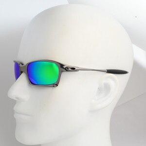 Image 5 - UV400 lunettes de soleil en métal lunettes de vélo femmes lunettes de cyclisme hommes lunettes de cyclisme polarisées lunettes de soleil de cyclisme en plein air Sprot