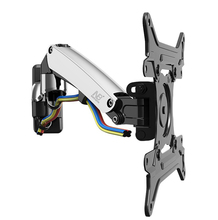 """30"""" 40"""" NB F200 Gas Spring Full Motion LED LCD TV Wall Mount Retractable Rotation Monitor Holder Load Capacity 11~22lbs(5~10kgs)"""