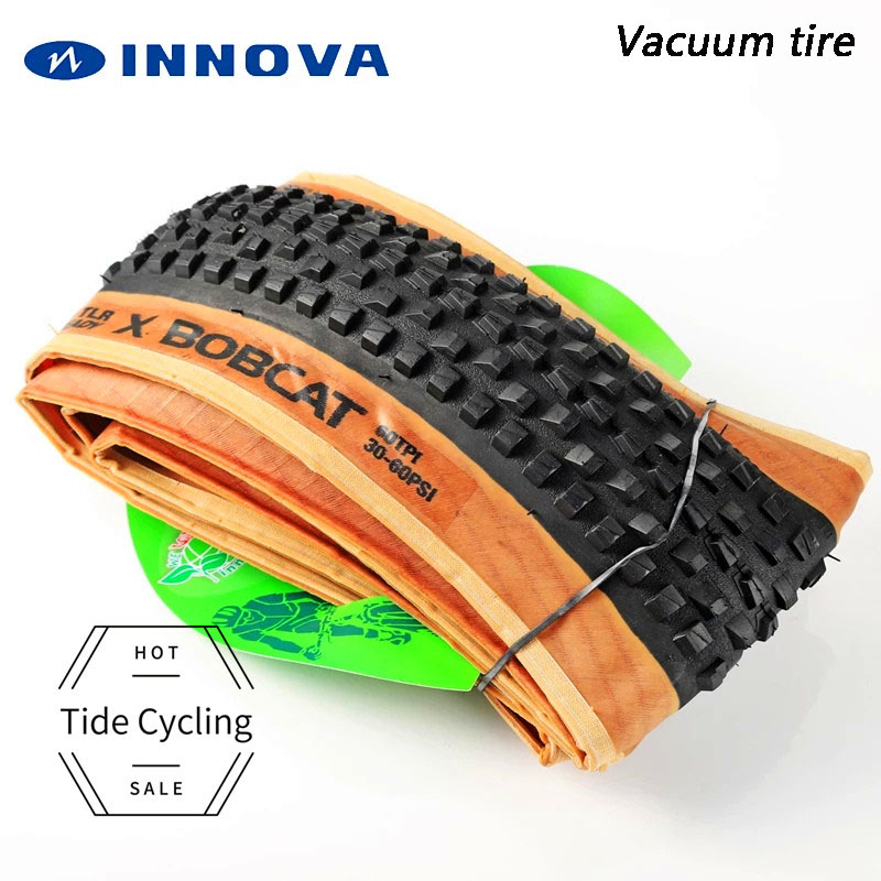 INNOVA 27.5*2.1 29*2.1 Ultralight MTB Tubeless Ready Tire for XC Racing 60TPI Ultralight TLR Bicycle Vacuum tire