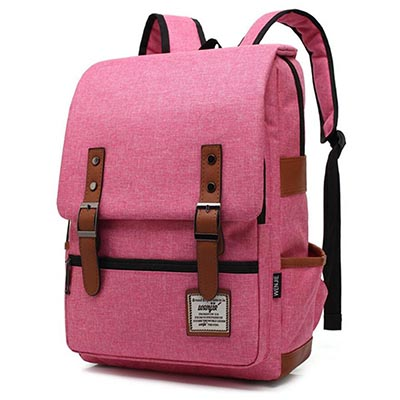 HZB College Bag Leisure Travel Backpack