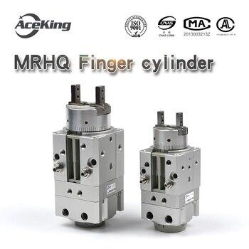 MRHQ Вращающийся палец mrhq10d 90 качающийся воздушный коготь MRHQ16D 20D 25d 180s n m9n вращающийся зажимной палец цилиндр 90 180 градусов
