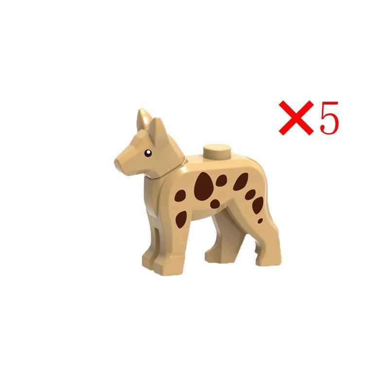 Vergrendeling Vrienden Huisdieren Dieren Figuren Met Paard Bouwstenen Bricks Speelgoed Voor Kinderen Assembleren Block Figuur Vrienden Geschenken