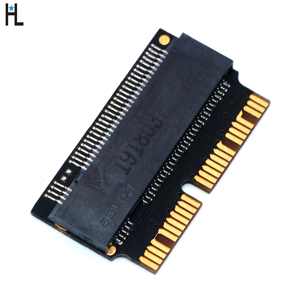 M2 NVMe <font><b>PCIe</b></font> <font><b>M.2</b></font> NGFF to SSD <font><b>Adapter</b></font> Card for Apple Laptop Macbook Air Pro 2013 2014 2015 A1465 A1466 A1502 A1398 <font><b>PCIE</b></font> <font><b>x4</b></font> image
