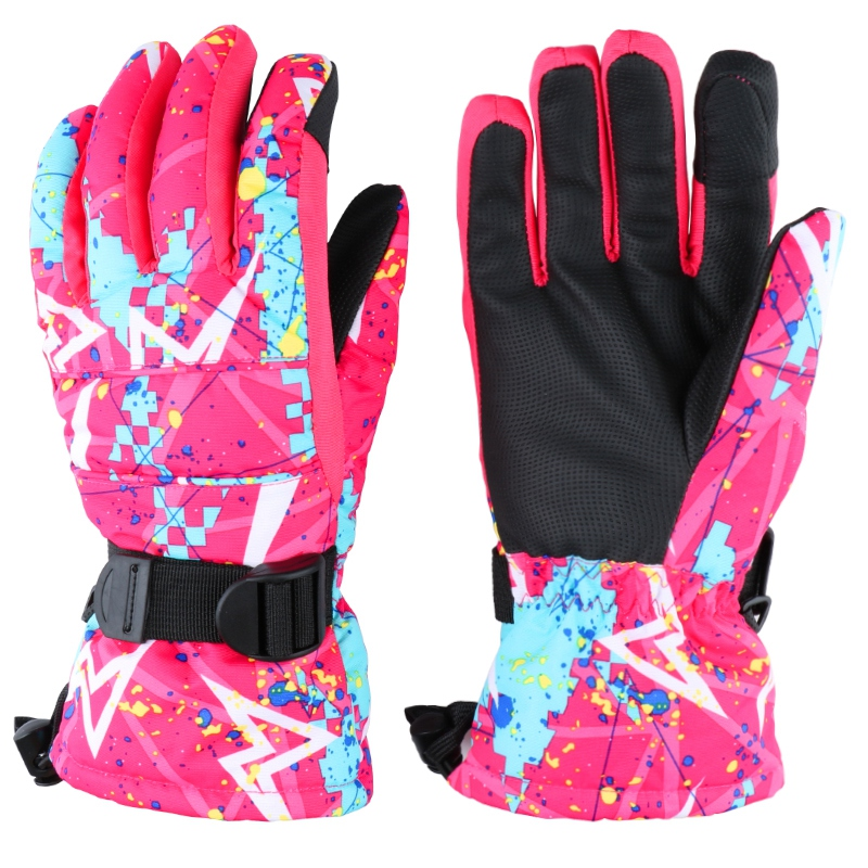 Touch Screen Ski Gloves Men Women Boy Girl Chidren Snowboard Gloves Motorcycle Winter Skiing Climbing Waterproof Snow Gloves