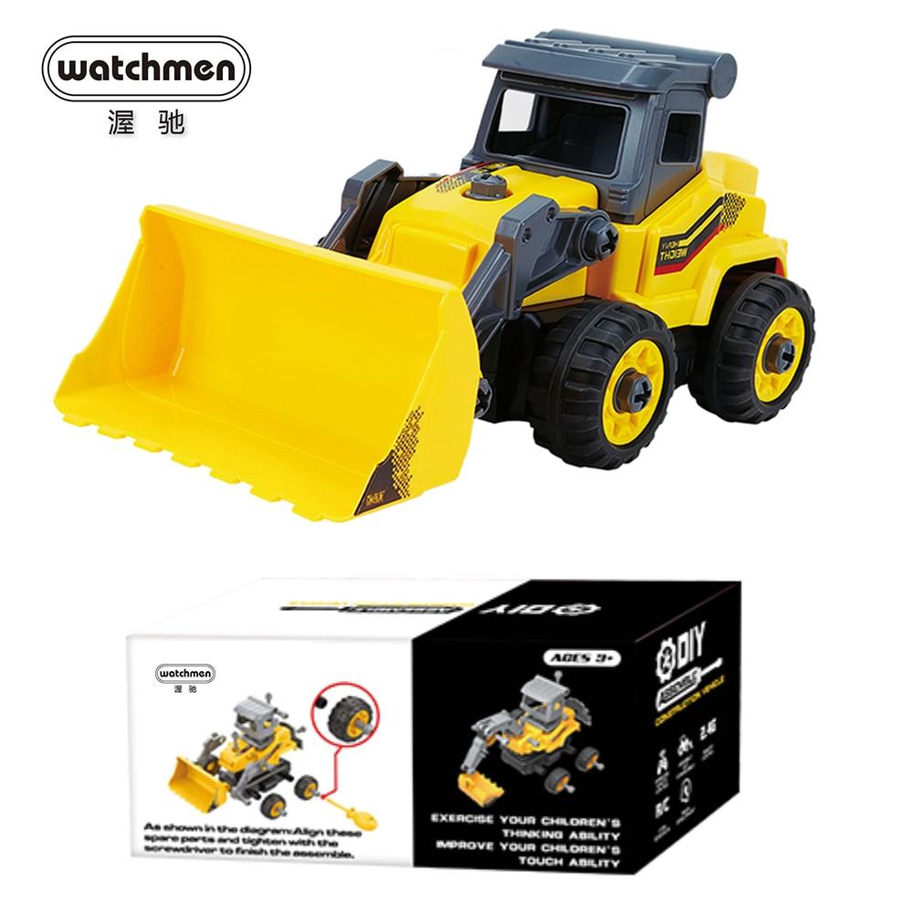 RC Car Toy DIY Remote Control Excavator Truck Bulldozer Assemble Model Kit for Children Boys Radio Control Machine RC Cars  - AliExpress