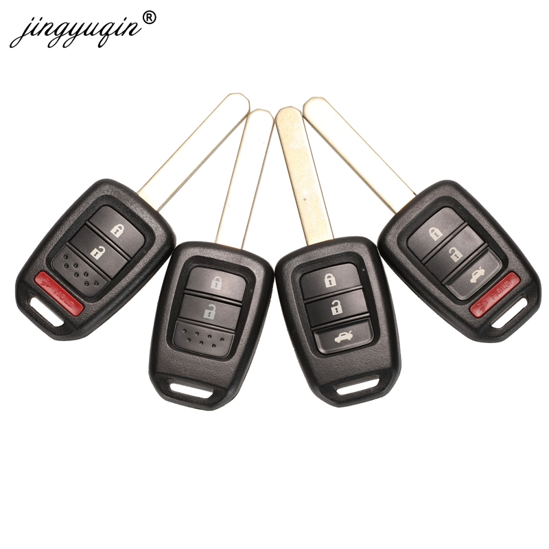 GENUINE HONDA Civic CRV Jazz Accord HRV FRV 3 BUTTON REMOTE FLIP KEY FOB SMART
