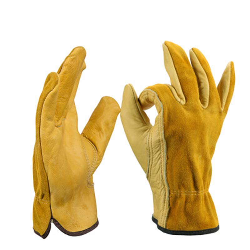 Labor Protection Gloves Full Leather Gloves Safety Protection Products