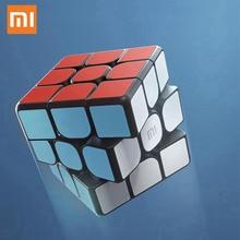 شاومي مي الذكية بلوتوث المكعب السحري بوابة الربط 3x3x3 مربع المغناطيسي مكعب لغز العلوم تعليم التعليم لعبة هدية
