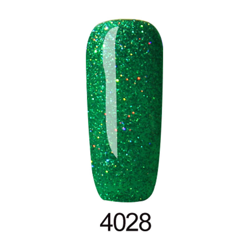 KADITION ใหม่ 5ml Neon Glitter เล็บเจลเล็บเจลเคลือบเงากึ่งถาวรเจลดูดซับเจลเล็บที่มีสีสัน UV GEL