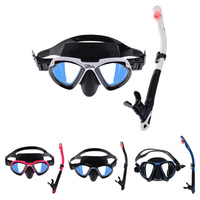 Adult Scuba Diving Snorkeling Swimming Mask And Dry Snorkel Set for Swimming Scuba Diving Snorkeling Free Diving Spearfishing