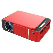 T6 Android 9.0 WIFI Optional 2600lumen 720p HD Portable LED Projector HDMI Suppo