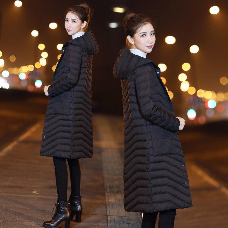 Winter Coat Women Down Coat Korean White Duck Down Jacket Women Puffer Jacket Warm Parka Veste Femme 9013-3 YY1509