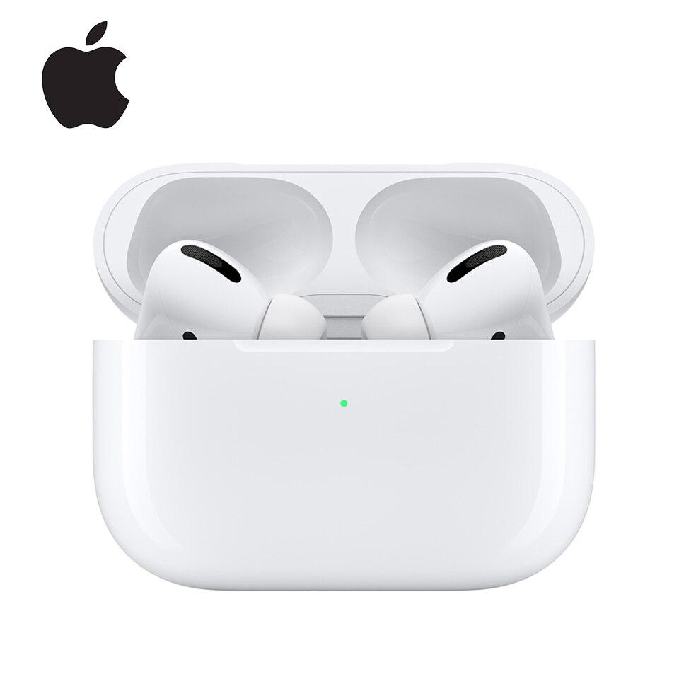 Беспроводные Bluetooth наушники Apple Airpods Pro, активное шумоподавление, оригинальные AirPods 3 с зарядным чехлом, быстрая зарядка