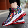 Colorful Graffiti Air Basketball Shoes Sport Men Outdoor Fashion Man Athletic Shoes Walking Sneakers Big Size 46 tenis basquete