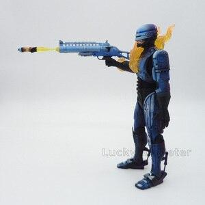Image 5 - אנימה 1/8 סולם צבוע קרב פגום גרסה רובוקופ רקטות משגר פעולה איור רובוקופ להביור PVC איור צעצועים